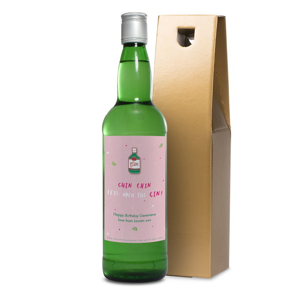 Personalised HotchPotch Chin Chin Gin