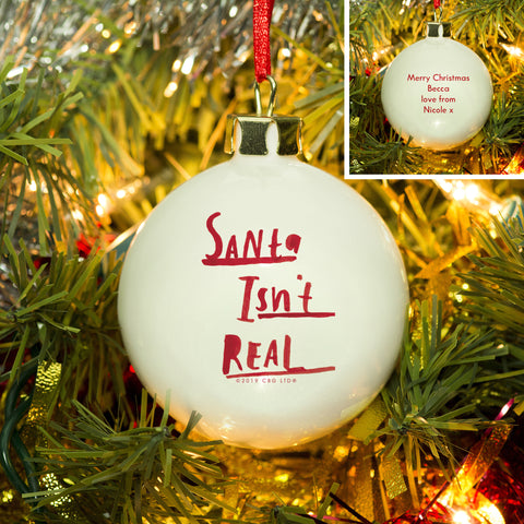 Personalised HotchPotch Santa Bauble