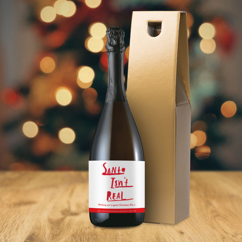 Personalised HotchPotch Santa Prosecco