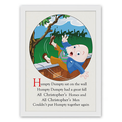 Personalised Humpty Dumpty Poster