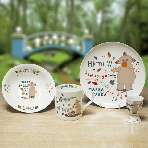 Personalised Musical Makka Pakka Breakfast Set