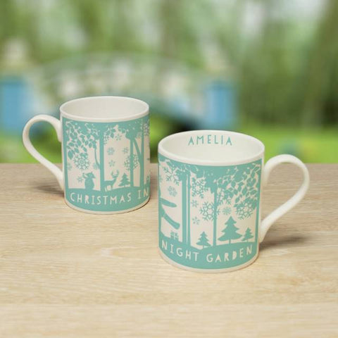 Personalised  In The Night Garden Snowtime Balmoral Mug