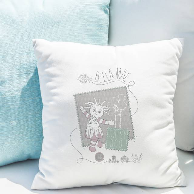 In The Night Garden Upsy Daisy Stamp Cushion