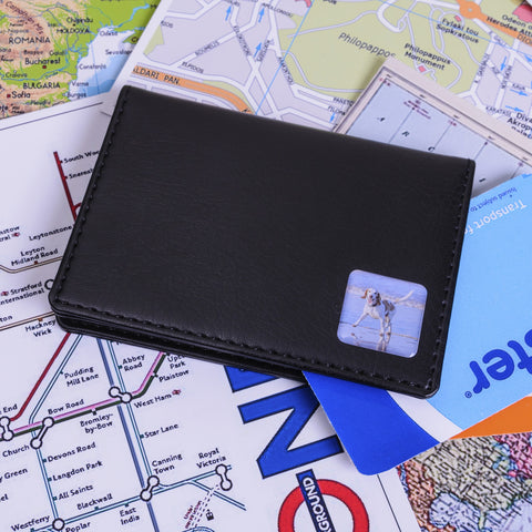 Oyster/Travel Card Holder - Photo - Shane Todd Gifts UK