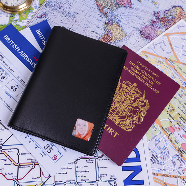 Passport Holder - Photo | Gifts24-7.co.uk