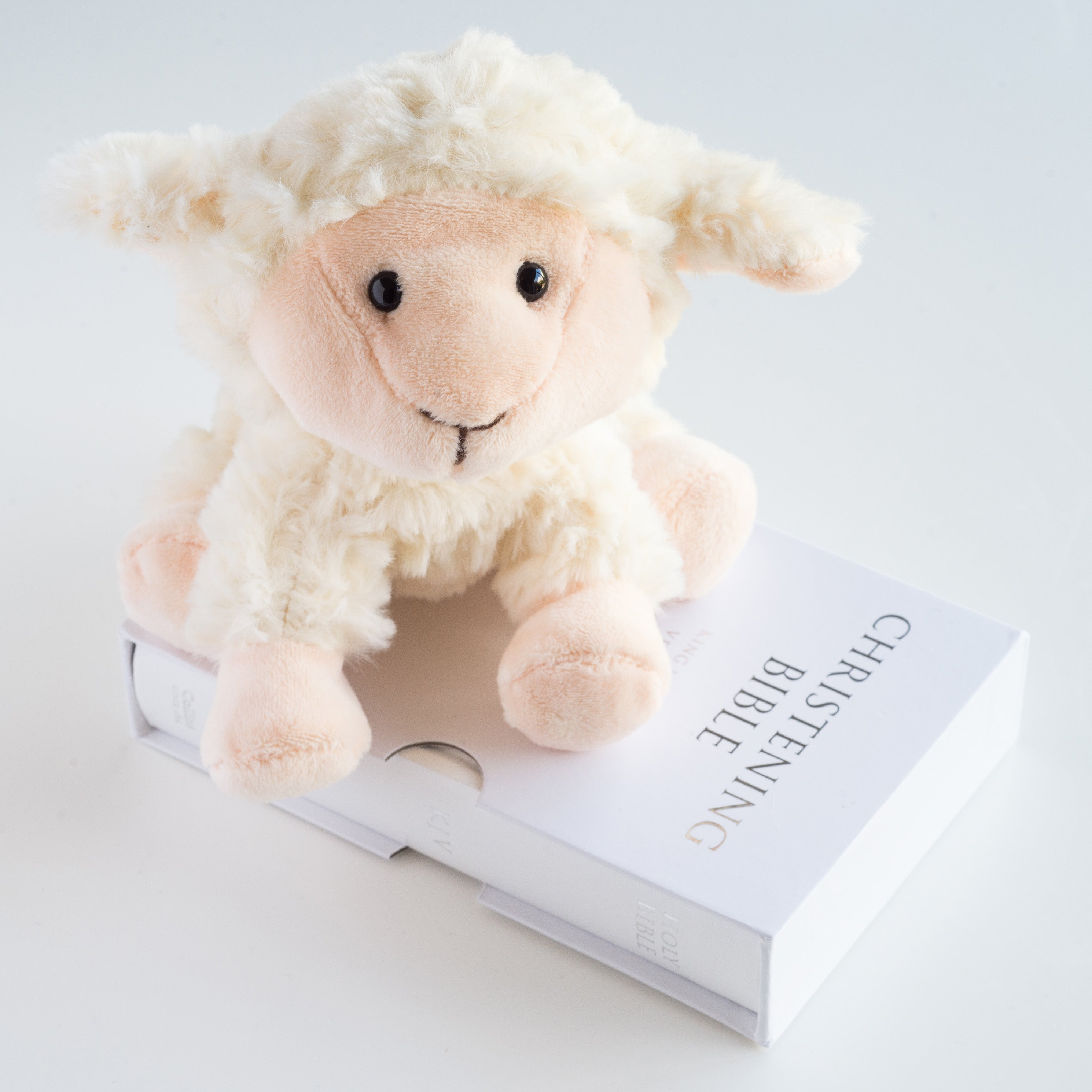 Lamb & Bible Christening Set, Religious Items by Gifts24-7