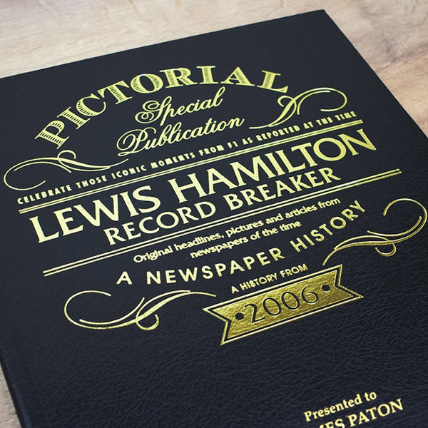 Lewis Hamilton: Record Breaker - A Pictorial Newspaper Book