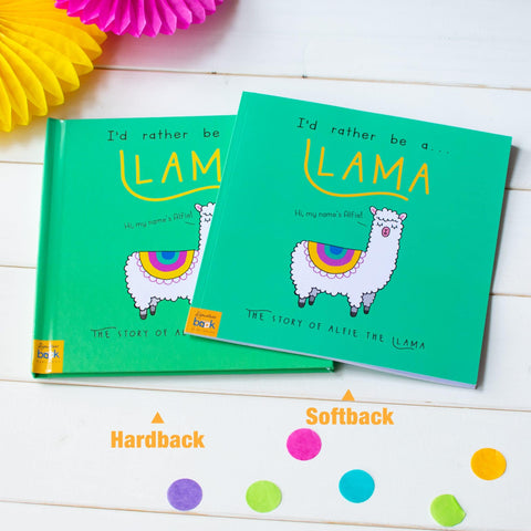 I'd Rather Be A Llama – Personalised Storybook