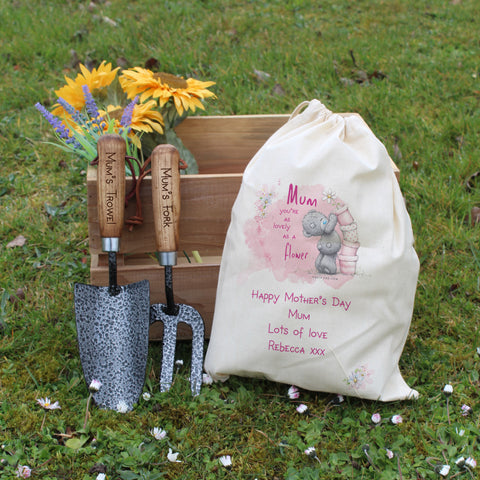 Personalised Gifts Me To You Mum Garden Tool Set