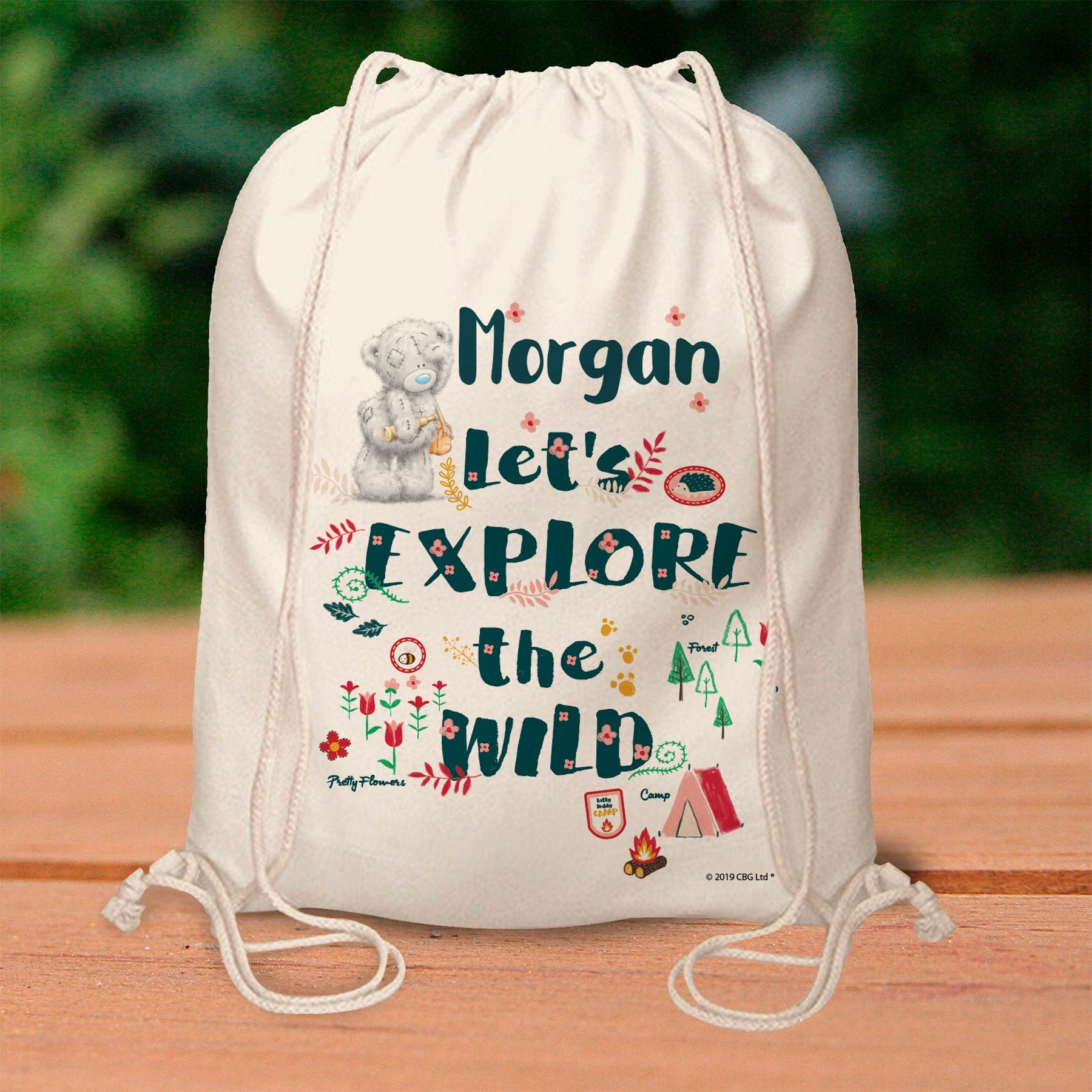 Me To You Let's Explore the Wild Drawstring Bag, Luggage & Bags by Gifts24-7