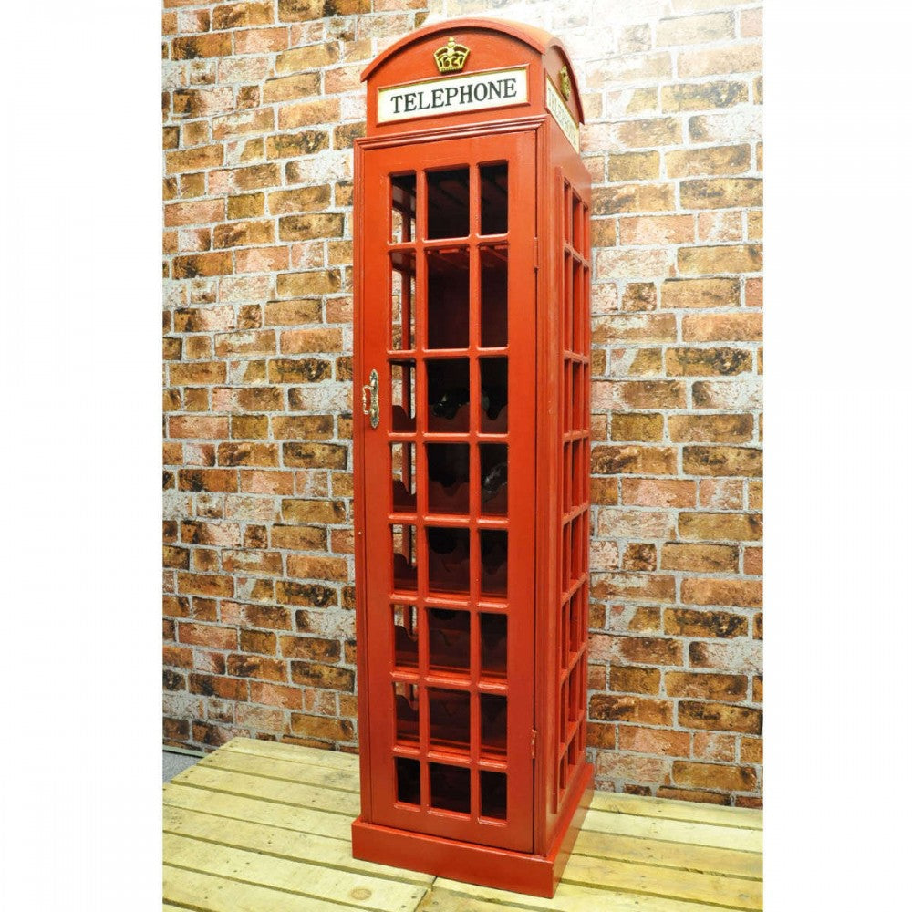 Telephone Wine Cabinet 171cm, Furniture by Low Cost Gifts
