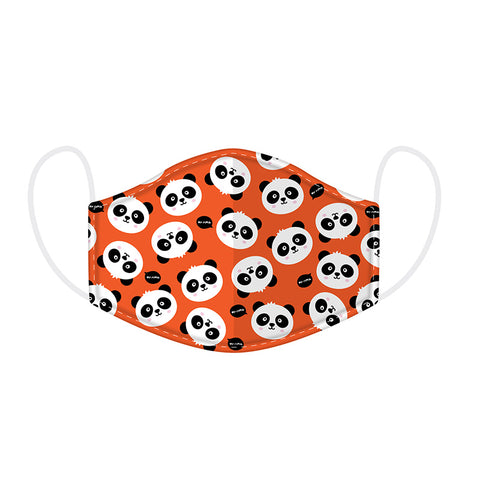 Cutiemals Panda Reusable Face Covering - Small