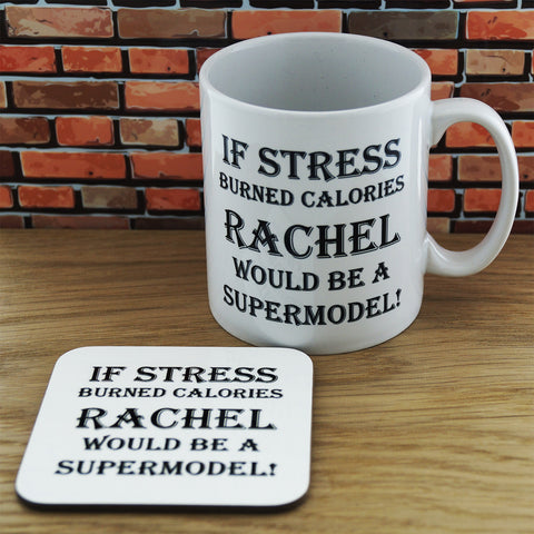 Mug and Coaster Set-If stress