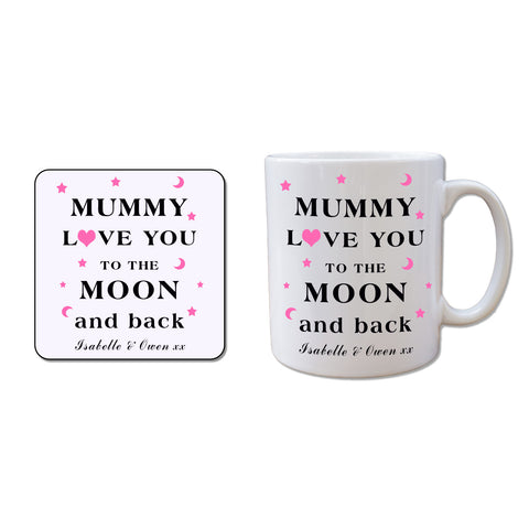 Mug and Coaster Set-Mummy