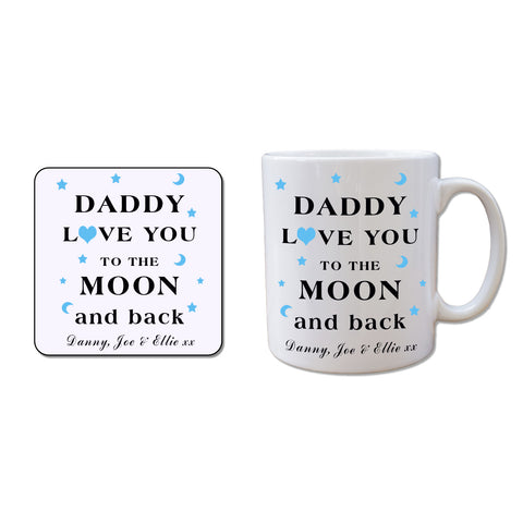 Mug and Coaster Gift Set - Daddy - Shane Todd Gifts UK