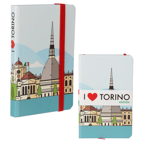 Collectable Hardback Notebook - I Heart Torino#