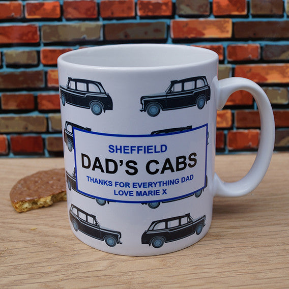 Dads Cabs Mug, Home & Garden by Low Cost Gifts