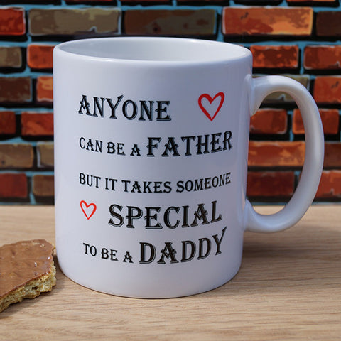 Anyone can be a FatHer...Mug
