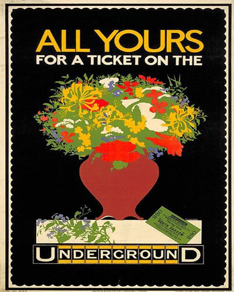 Vintage Metal Sign - Retro Advertising - London Underground, Business & Industrial by Gifts24-7