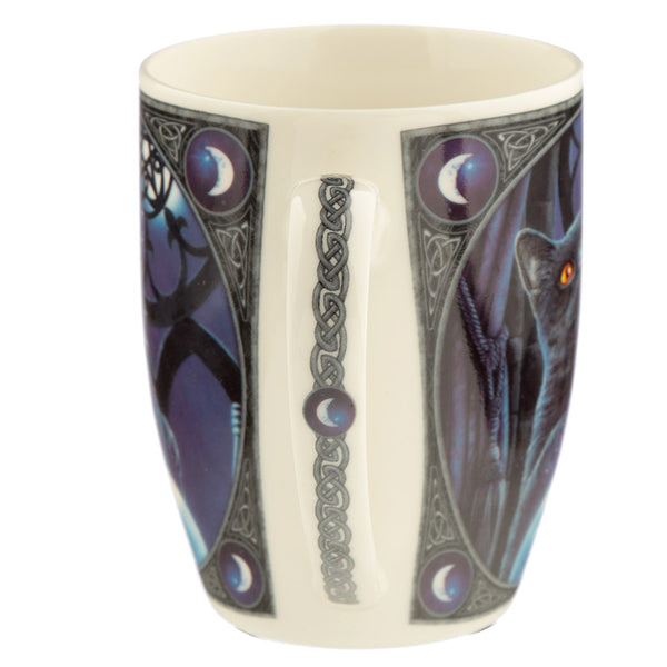 The Witches Apprentice Cat Lisa Parker New Bone China Mug