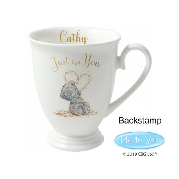 Personalised  Me To You Just For You Marquee Mug