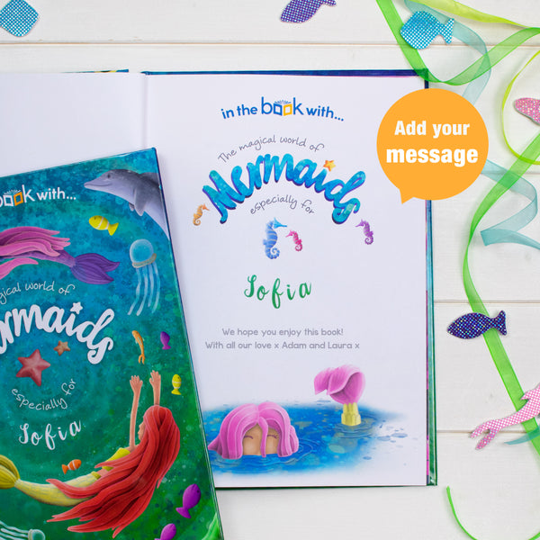 Books For Children Personalised Mermaid Storybook