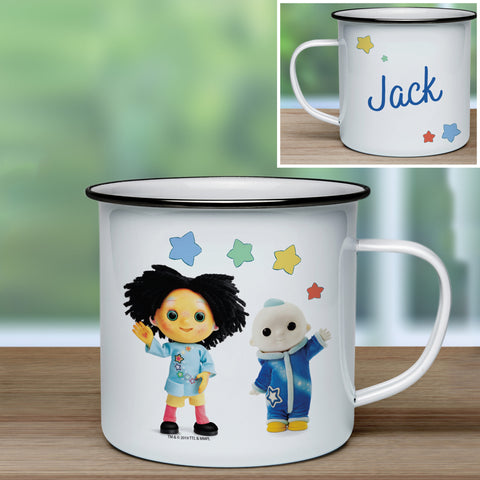Moon and Me Pepi Nana & Moon Baby Enamel Mug