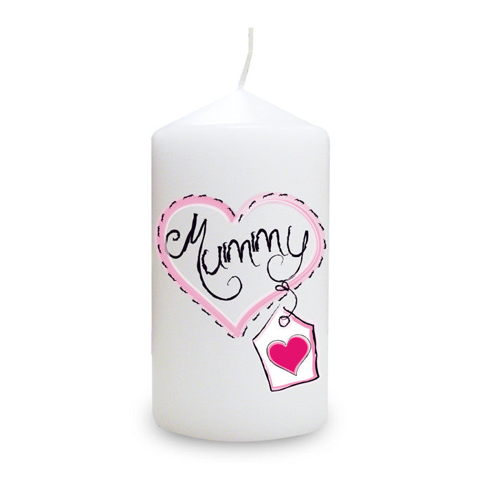 Buy Mummy Heart Stitch Candle