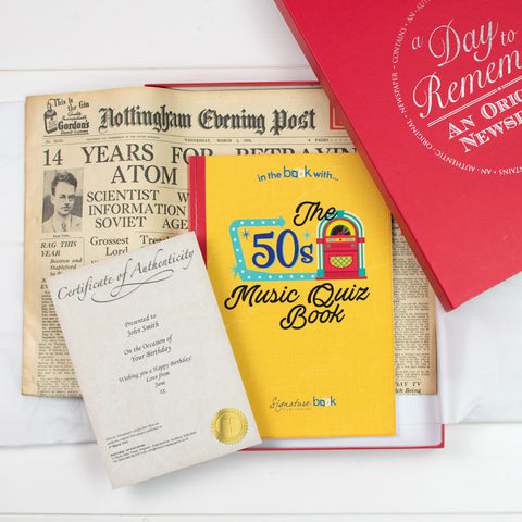 Original Newspaper and Music Quiz Book