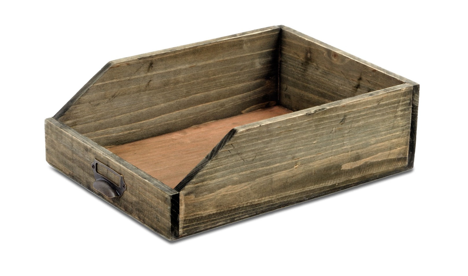 Wooden Paper Tray 25 x 34 x 10 cm, Gift Giving by Low Cost Gifts