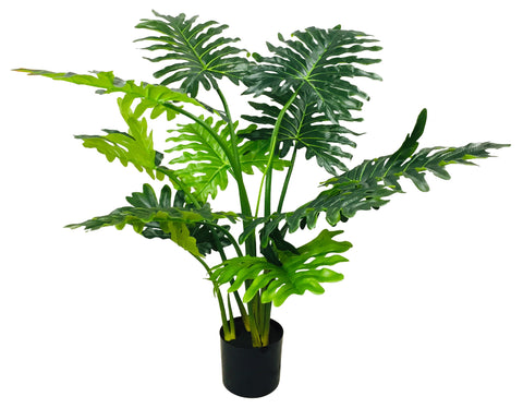 Artificial Philodendron Tree With Short Stem 120cm