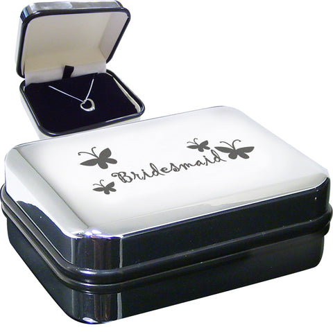 Buy Bridesmaid Heart Necklace Box
