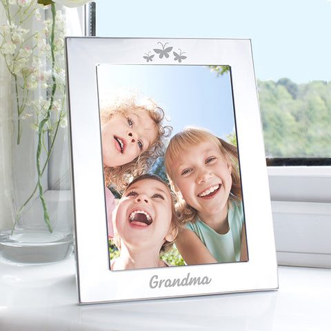 Silver 5x7 Grandma Photo Frame | ShaneToddGifts.co.uk