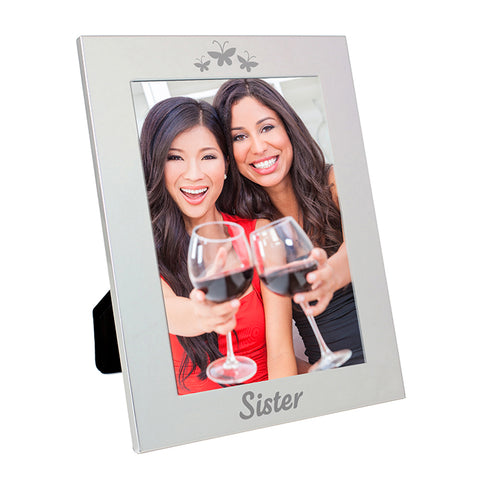 Buy Silver 5x7 Sister Photo Frame