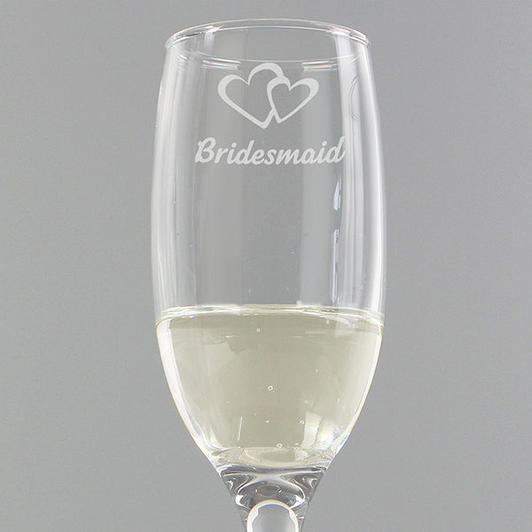 bridesmaid-single-flute
