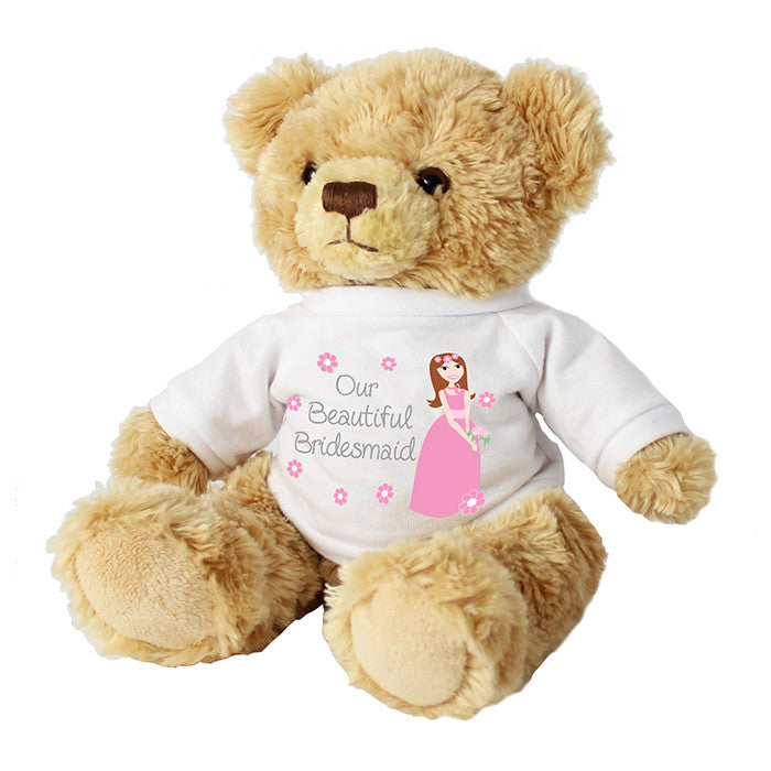 Fabulous Bridesmaid Teddy | ShaneToddGifts.co.uk