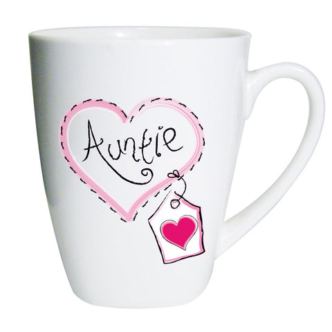 Buy Auntie Heart Stitch Latte Mug