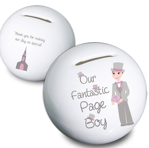 Fabulous Page Boy Money Box | ShaneToddGifts.co.uk