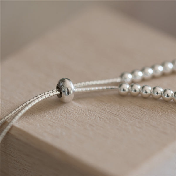 Sterling Silver Adjustable Baby Bracelet