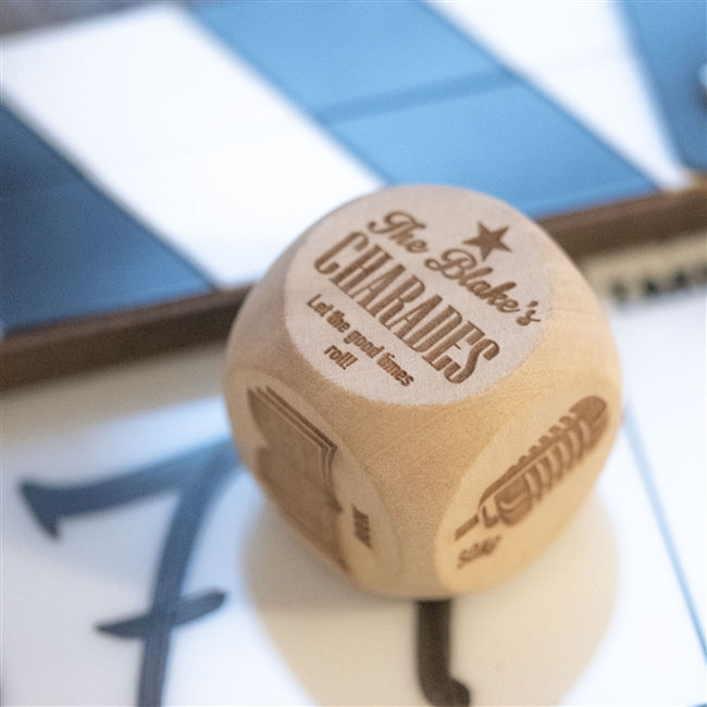 Personalised Charades Dice, Toys & Games by Low Cost Gifts