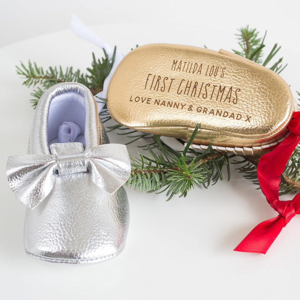 First Christmas Bootie Tree Decoration - Shane Todd Gifts UK