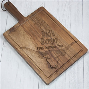 Personalised Burger Board