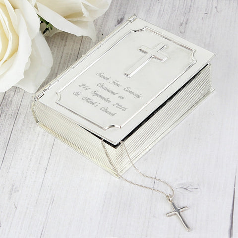 Buy Personalised Bible Trinket Box