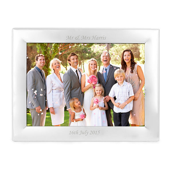 personalised-silver-plated-5x7-landscape-photo-frame