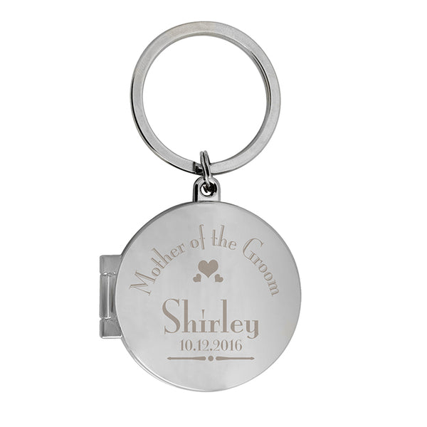personalised-decorative-wedding-mother-of-the-groom-round-photo-keyring