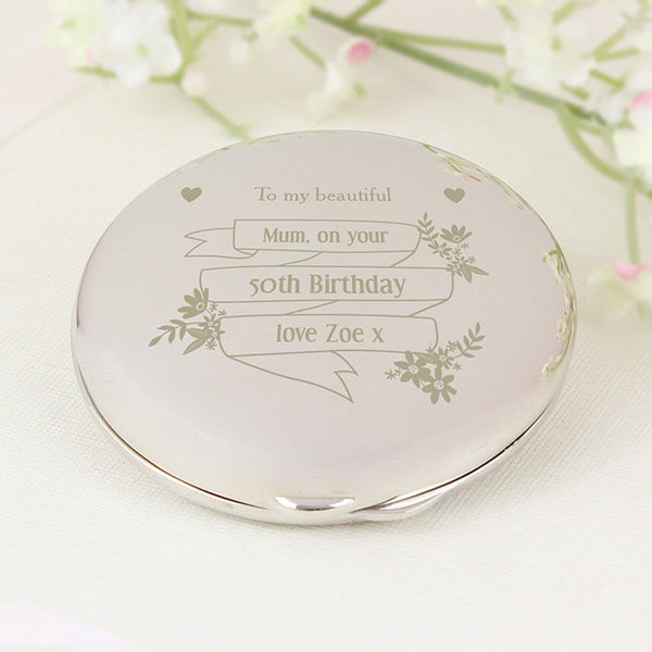 personalised-garden-bloom-compact-mirror