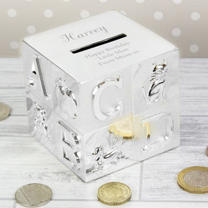Buy Personalised ABC Money Box