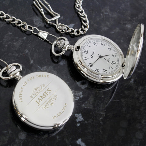Buy Personalised Classic Pocket Fob Watch