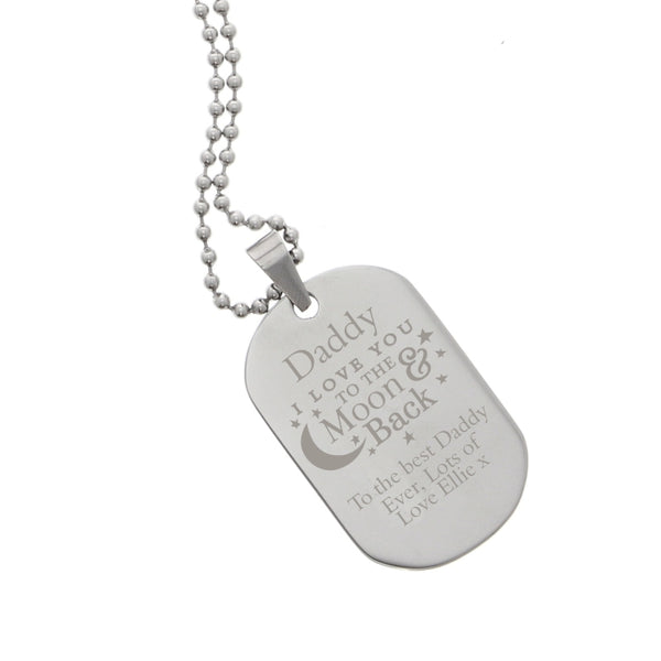 personalised-to-the-moon-back-stainless-steel-dog-tag-necklace