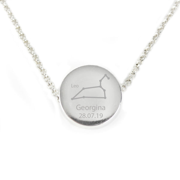personalised-leo-zodiac-star-sign-silver-tone-necklace-july-23rd-august-22nd